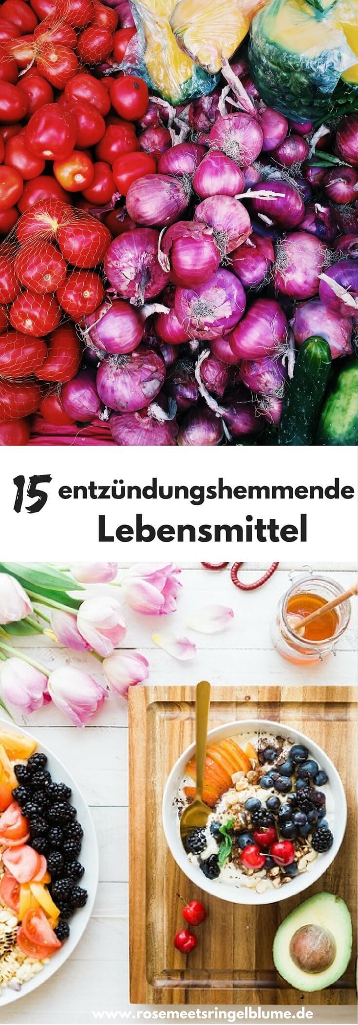 15 entzündungshemmende Lebensmittel ffür die Gesundheit