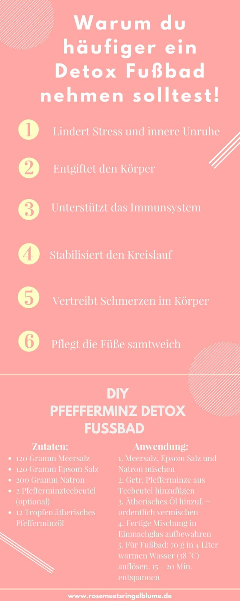 Warum du häufiger ein Detox Fußbad nehmen solltest