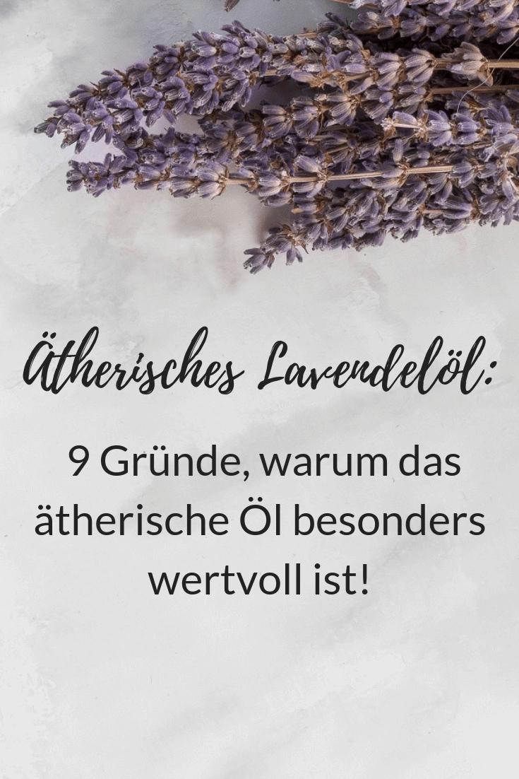 Ätherisches Lavendelöl Wirkung für Haut, Haare und Gesundheit